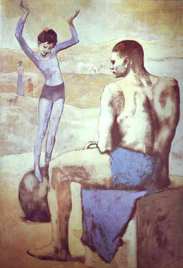 Девочка на шаре - Пабло Пикассо