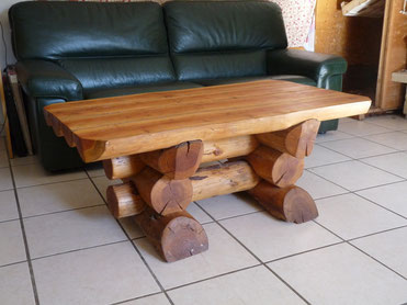 Table basse, douglas