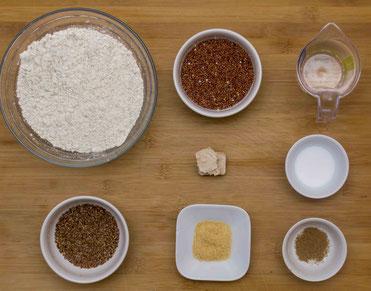 Quinoa Brot rezept selber machen selber backen quinoa superfood gesund quinoabrot