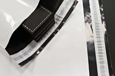 Bolsas Plástico Opaco Cierre Adhesivo para Envios