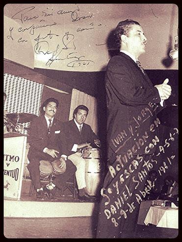 Daniel Santos en Chile, bar Goyescas - 1961.