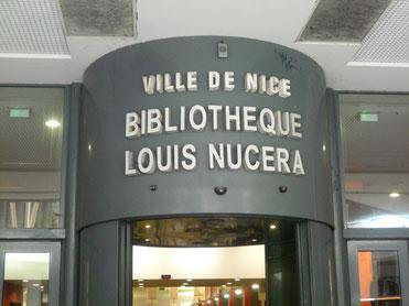 Bibliothèque Louis Nucera, Nice