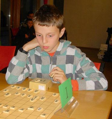 Sieger der U10 Luca