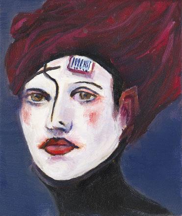 Femme consumeriste 10*12 pour IMAGO MUNDI ART France de la Fondation Benetton