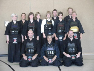 Kendo Training mit Itoga-Sensei aus Japan in Fulda 2011
