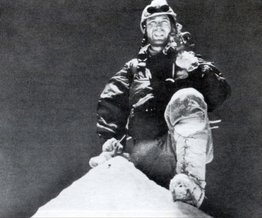 First ascent in 1955