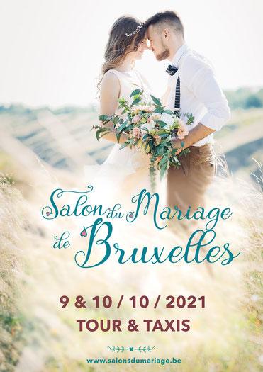 Salon du Mariage de Bruxelles 9 et 10 Octobre 2021