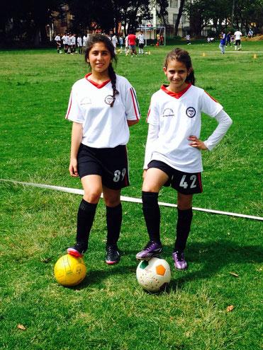 Nuestras futbolistas, Natalia Núñez y Sofía Ramírez