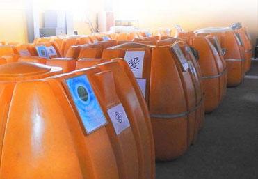 KS乳酸菌生産物質の培養タンク