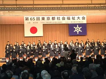 豊島岡女子学園コーラス部による公演