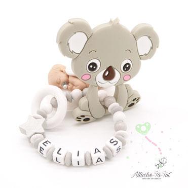 Hochet, anneau de dentition, Koala.