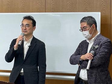 TRUSS HOME株式会社 代表取締役 古川広毅 氏と北海道大家塾 原田塾長