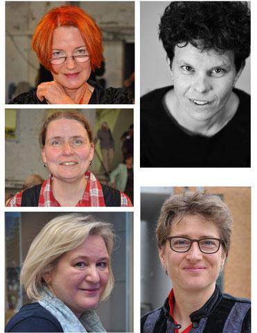 Hedi Schulitz, Hanna Jüngling, Sabine Stern, Nicole Hallschmid, Konstanze Ihle