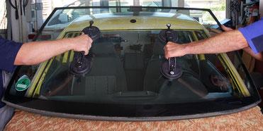 Autoglas Autoglasersatz Frontscheibe