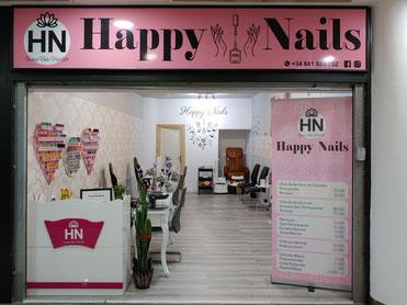 Salón de manicura Happy Nails en Candelaria - Centro Comercial Punta Larga