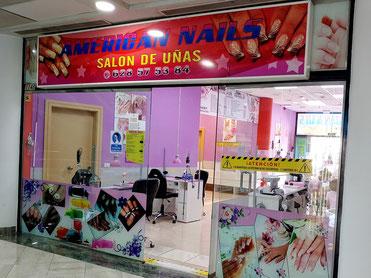 Salón de uñas American Nails en Candelaria - Centro Comercial Punta Larga