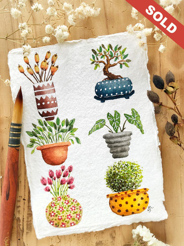 """Potted plants""  CHF 59.00"