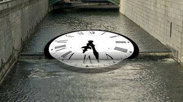 Wie die Zeit verrinnt.