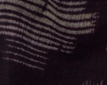 Baumwollschal kreisförmige Streifen