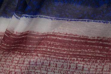 Schal mit maritimem Muster