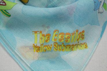 Blaues Nickituch für Kinder Yellow Submarine