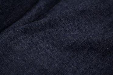 Herrenwollschal dunkelblau