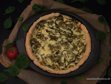 Spinat- Quiche