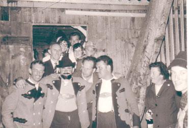 Spielerbild aus Geier Wally - Aufführung 1962 auf der Freilichtbühne Bonbaden