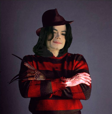 Michael Jackson as Freddy Kreuger (Alex L)