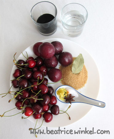 Beatrice Winkel - Cherry Plum Ketchup
