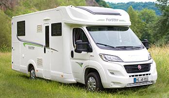Forster Reisemobile Teilintegriert