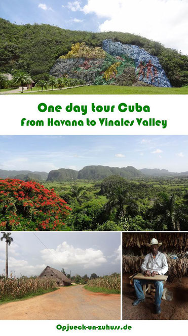 One day trip from Havana to Vinales Valley