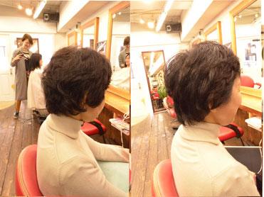 くせ毛カット | ショートカットで長さを変えずにシャープな髪型に 横浜で人気の美容室YUME-YUI~夢結~