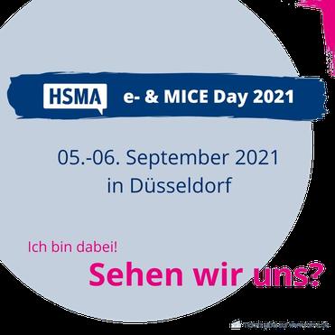 e- & MICE Day 2021 HSMA Düsseldorf
