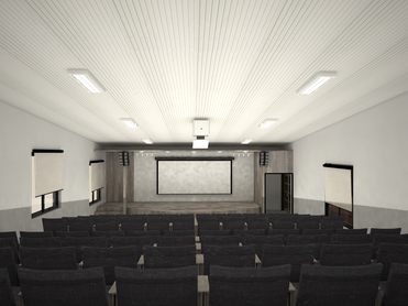 建設中の新校舎の紹介②