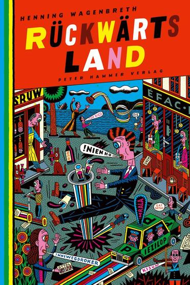 Das Bild zeigt das Cover von Rückwärtsland von Henning Wagenbreth.