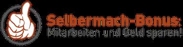 Andre Münch - Zimmermann Selbermach-Bonus, Mitarbeiten und Geld sparen