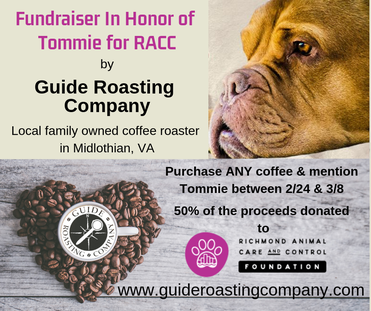 Fundraiser for RACC by Guide Roasting Company