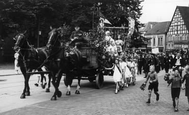 Umzug Obernstraße Anfang der 30er Jahre