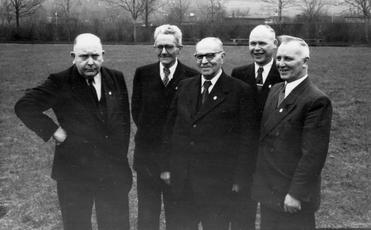 Vorstand Anfang der 50er Jahre