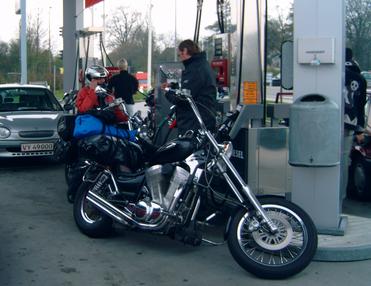 Zwischenstop in Dänemark 2005