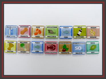 Kartenhalter für Namensschilder