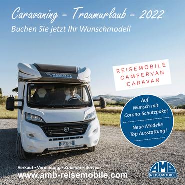 Traumurlaub 2021 - Wohnmobil, Campervan oder Wohnwagen mieten