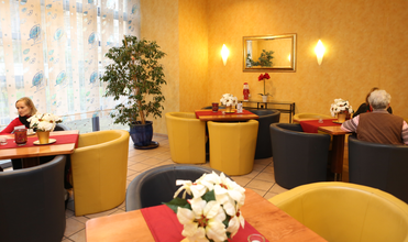SeidenCarré Krefeld Betreutes Wohnen Cafeteria Aufenthaltsraum