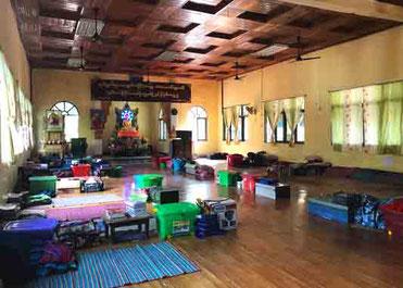 リンクトゥミャンマーが支援を行う学校(同団体提供)「教育が現状を変える」と活動の原点を深山氏は語る。