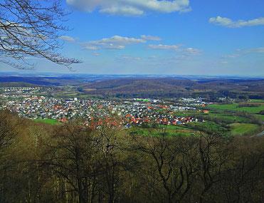 Blick über Bad Driburg © Gisbert Tegethoff