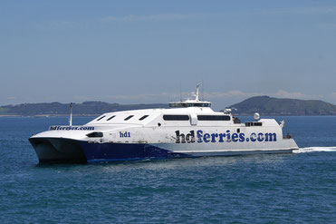 HD1, the ship operated by Condor Ferries' competitor HD Ferries.