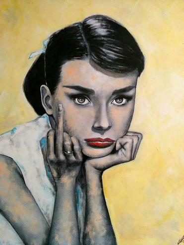 """""""Ladylike"""", 2015, acrylic on canvas, 80x100"""