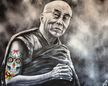 """""""Souvenir from Mexico"""", 2016, acrylic on canvas, 80x100"""
