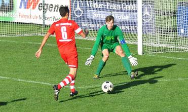 Der überragende VfL-Keeper Marcel Lücking rettete mehrfach in höchster Not.